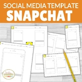 Snapchat Template EDITABLE with Google Slides