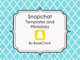 Snapchat Templates and Printables