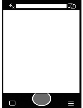 Snapchat Themed Blank Page