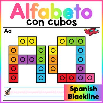 Snap Cube Alphabet Mats - Spanish