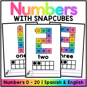 Snap Cube Number Mats 1-20