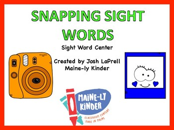 Snapping Sight Words