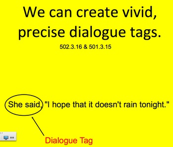 Snappy Dialogue Tags