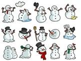 15 Snappy Snowmen