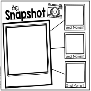 Snapshot And Small Moments: A Snapshot Into Small Moment Writing
