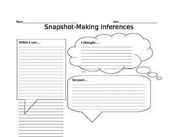 Snapshot Inferences