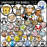 Snapshot ZOO Animals BUNDLE Clip Art