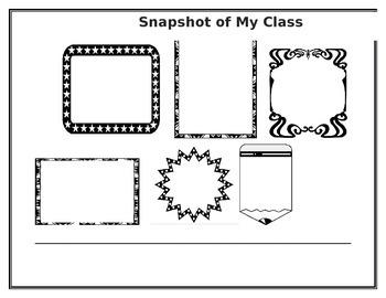 Snapshot of My Class