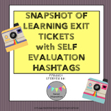 Snapshot of Learning: Polaroid Exit Tickets with Self Eval