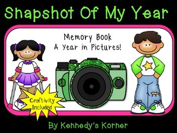 Memory Book ~ Snapshot of My Year!