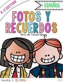 Snapshots End of Year Memory Book PreK-2 Edition {Spanish}