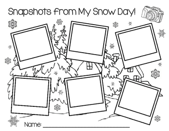 Snapshots from My Snow Day