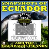 ECUADOR: Snapshots of Ecuador