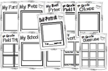 Snapshots of First Grade ~ A 1st Grade Memory Book