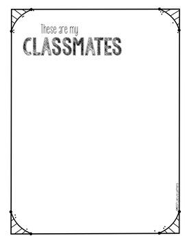 Snapshots of Kindergarten - End of Year Memory Book