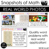 1st Grade Word Problems Morning Work | YEARLONG | Guided Math Spiral Review