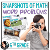 Snapshots of Math Word Problems 6th Grade Using Photos in