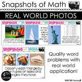 4th Grade Math Word Problems Using Photos in Math ALL STANDARDS TEST PREP