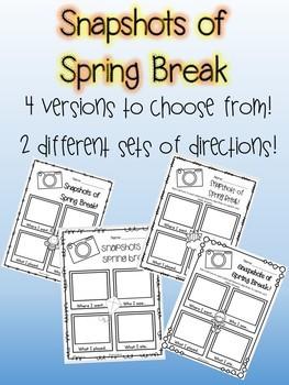 Snapshots of Spring Break Memories