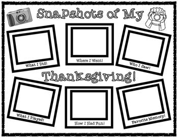 Snapshots of Thanksgiving Break!