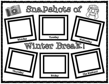 Snapshots of Winter Break!