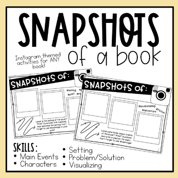 Snapshots of a Book