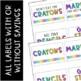 Snarky Teacher Toolbox Labels