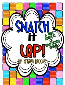 Snatch It Up! (An Addition and Subtraction Game)