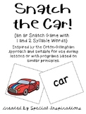 Snatch the Car! (an ar game) Orton-Gillingham