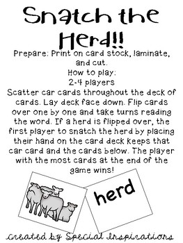 Snatch the Herd! (an er r-controlled card game)