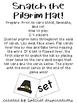 Snatch the Pilgrim Hat CVC Card Game! Orton-Gillingham Inspired