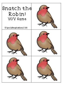 Snatch the Robin! (a VC/V robin words game) Orton-Gillingham Inspired