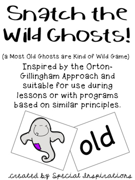 Snatch the Wild Ghosts! (an old, ild, ind, ost Game) Orton