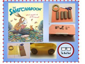 Snatchabook STEM Activities Bundle - Engineering and Math