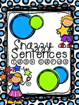 Snazzy Sentences! Adding Detail to Sentences activity!