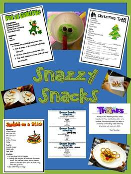 Snazzy Snack Project Bundle
