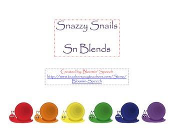 Snazzy Snails Sn Blends
