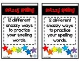 #happyeasterdeals Snazzy Spelling