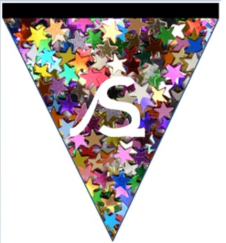 Snazzy star of the week bunting