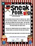 Sneak Peek - A Long Vowel Digraph Sorting Game