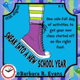 BACK TO SCHOOL ACTIVITY Sneakers Thematic Unit ELA Math HOTS Arts