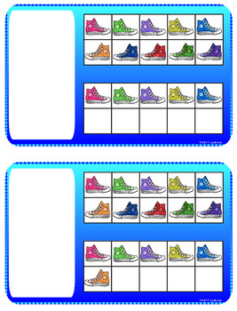 Sneaker Centers Activities Cat Centers Colors Shapes Counting Cat Shoes