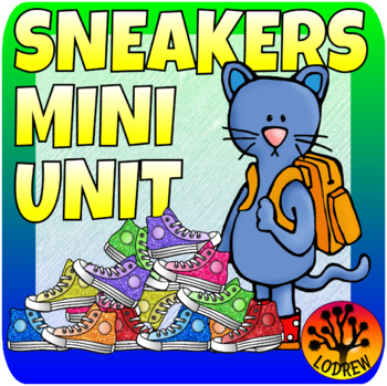 Sneaker Centers Shoes Math Literacy Colors Shapes Counting