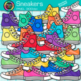 Sneaker Clip Art | Great for Back to School Classroom Decor & Task Cards