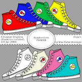 Sneaker Love - Clipart Freebie