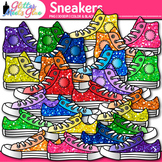 Sneaker Clip Art {Great for Back to School Classroom Decor