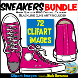 Sneakers Clip Art BUNDLE for Personal and Commercial Use