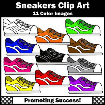 Tennis Shoe Clipart, Sneakers SPS