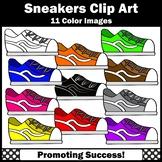 Sneaker Clip Art, Tennis Shoes, Commercial Use SPS