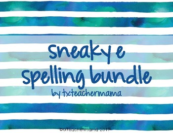 Sneaky E Spelling Resources